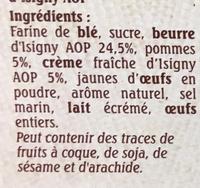 Le Trouvillais Pommes - Ingredients - fr