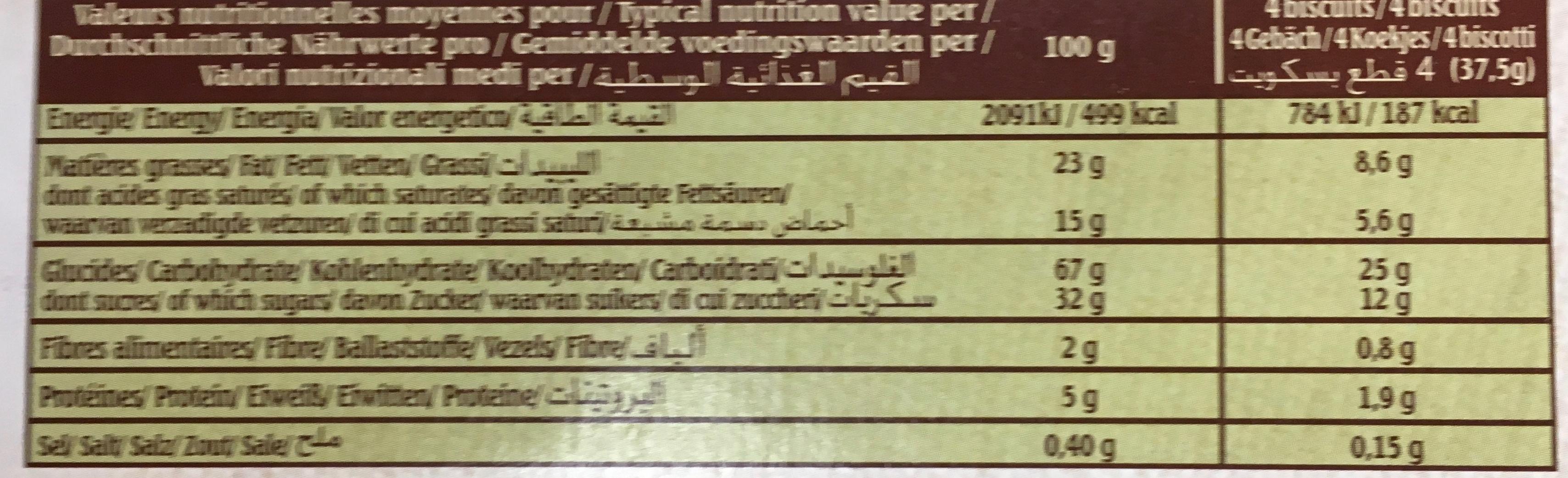 Le Trouvillais Pommes - Nutrition facts - fr