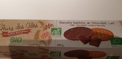 Sablé au chocolat au lait BIO - Product