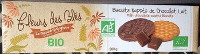 Biscuits nappés Chocolat lait - Product