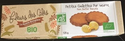 Petites galettes pur beurre bio - Product - fr