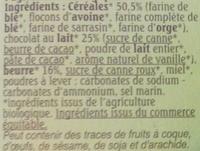 Le sablé des moissons - Ingredients - fr