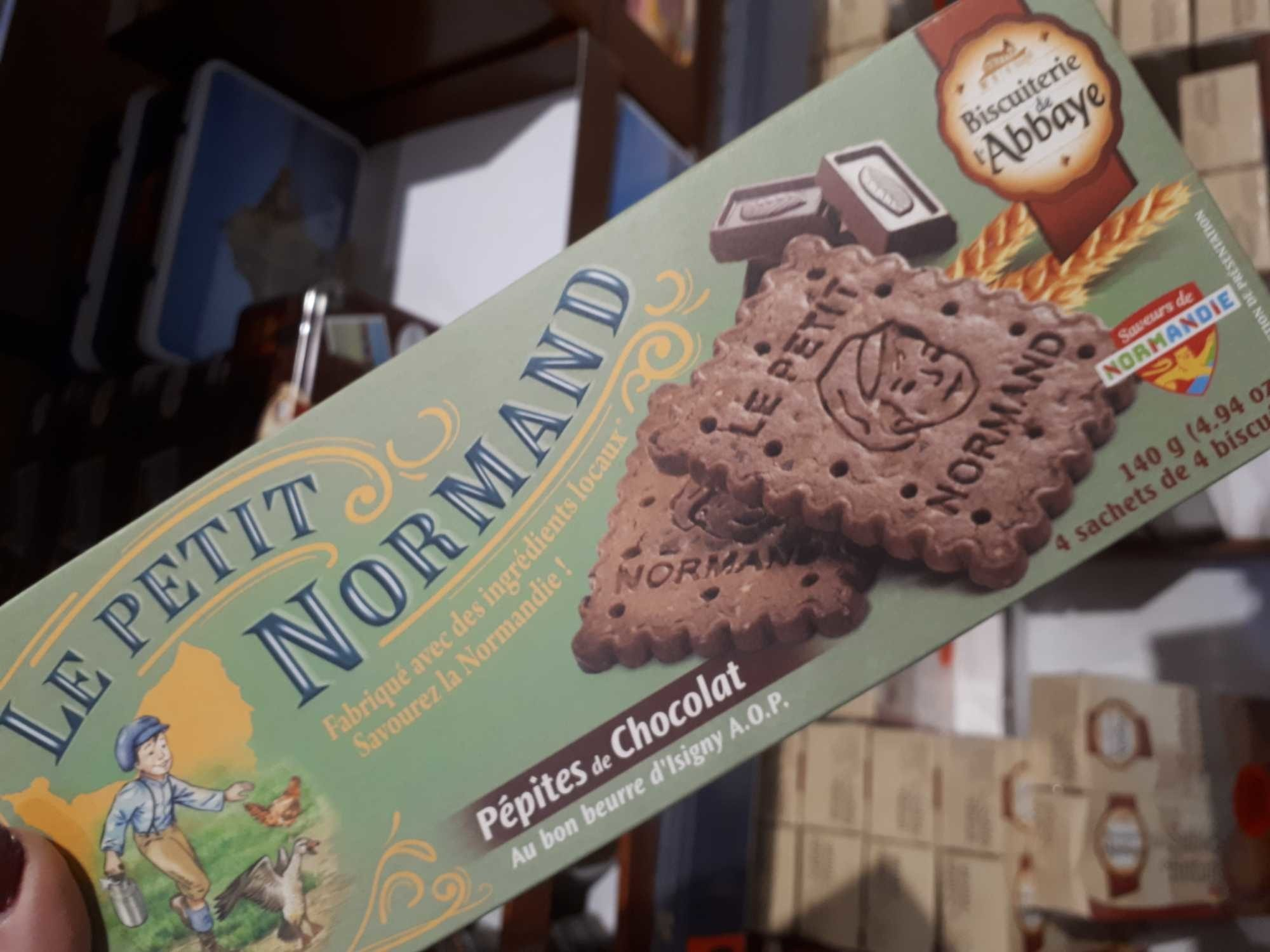 140G Petit Normand P. chocolat Biscuiterie De L'abbaye - Producto