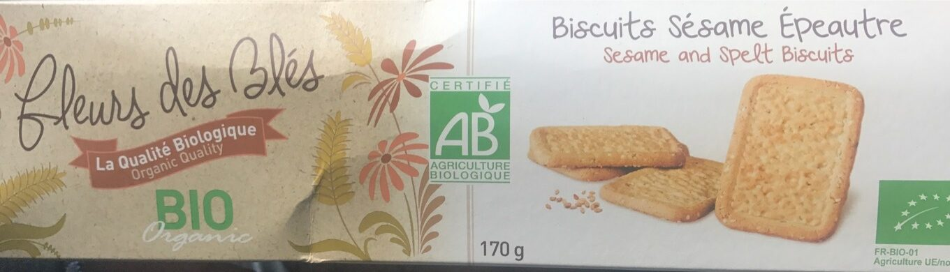 BISCUITS SESAME EPEAUTRE - Product - fr