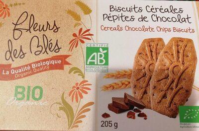Biscuits céréales petites de chocolat - Product - fr