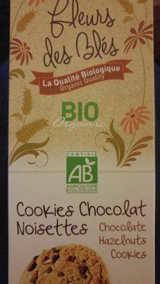 Cookies chocolat noisettes - 1