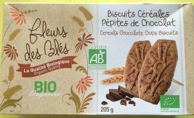 Biscuits céréales pépites de chocolat - Product - fr