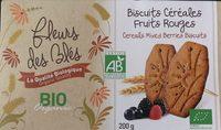 Biscuits Céréales Fruits Rouges - Product - fr