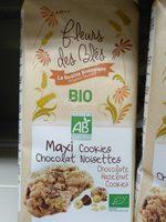Maxi cookies chocolat noisette - Product - fr