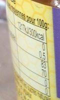 Miel de lavande - Nutrition facts - fr