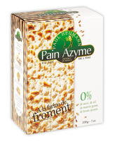 Pain Azyme Froment Paul Heumann - Produit