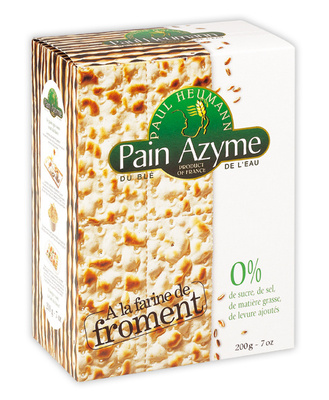 Pain Azyme Froment Paul Heumann - Produit - fr