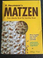 Matzen - Produit