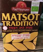 Paul Heumann Matsot Tradition Bio - Produit