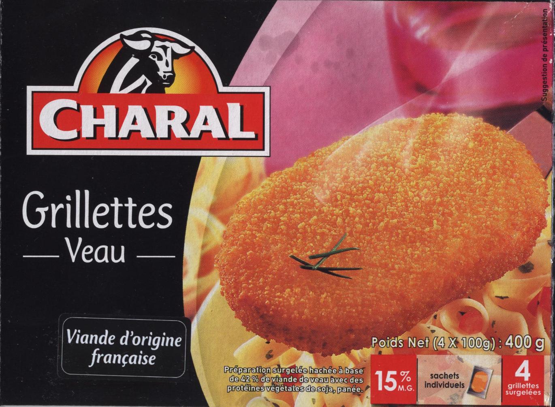 Grillettes Veau - Produit - fr