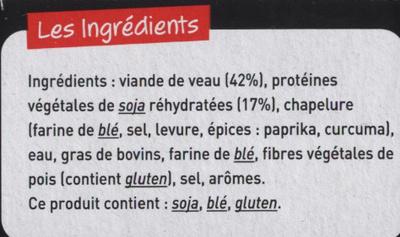 Grillettes Veau - Ingrédients - fr
