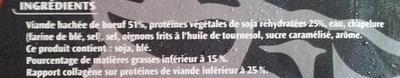 Boulettes au boeuf - Ingrédients