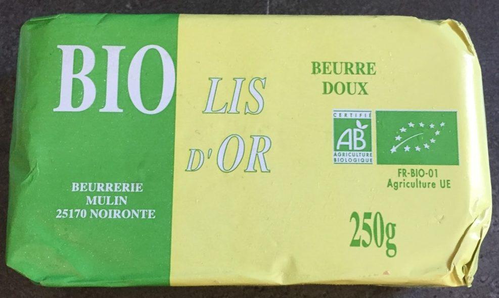 Beurre Doux - Lis d'Or 250 g - Product