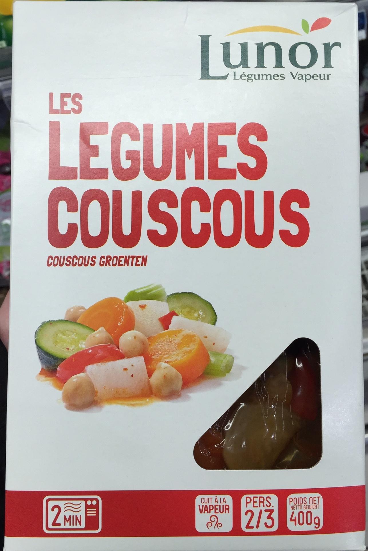 Les légumes Couscous - Produit