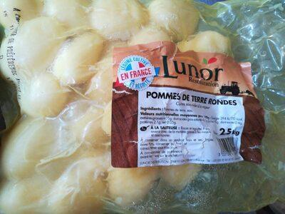 Pomme de terre rondes - Produit