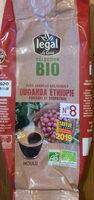 Café Ouganda Ethiopie - Ingredienti - fr