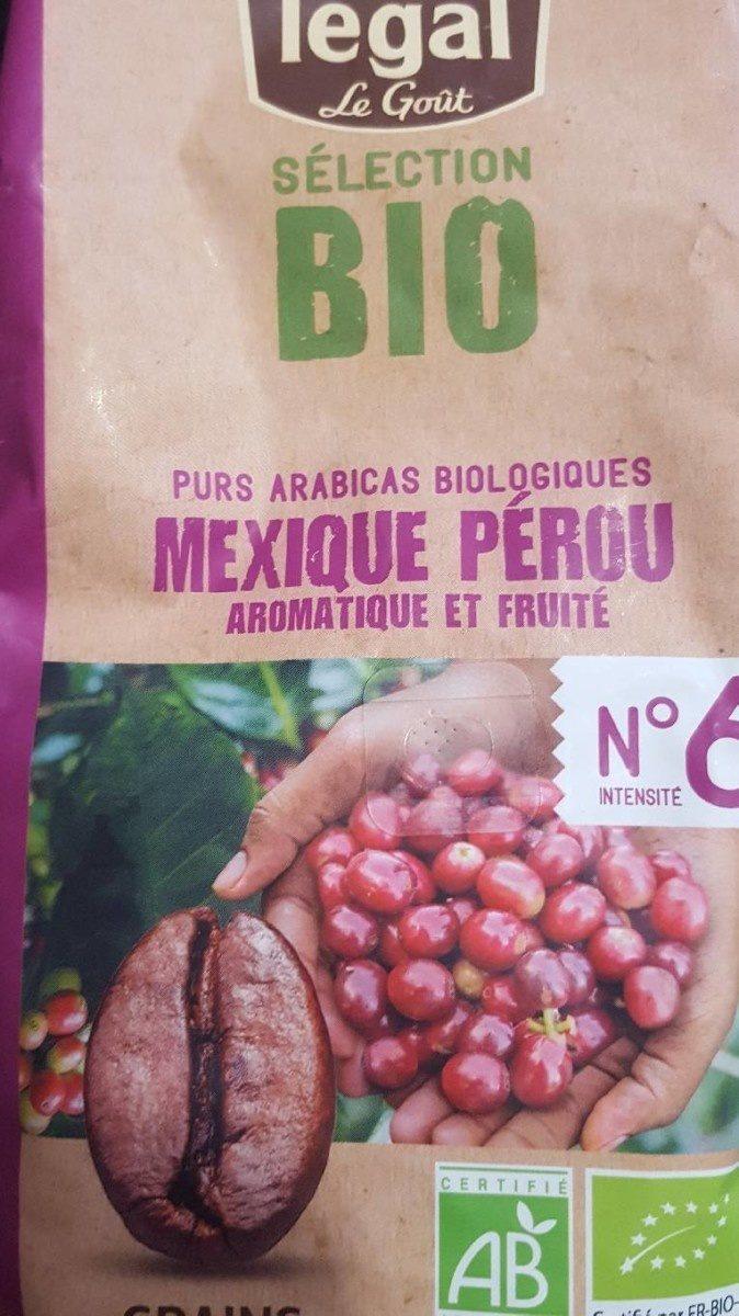 Pur arabica biologique Mexique Pérou - Product