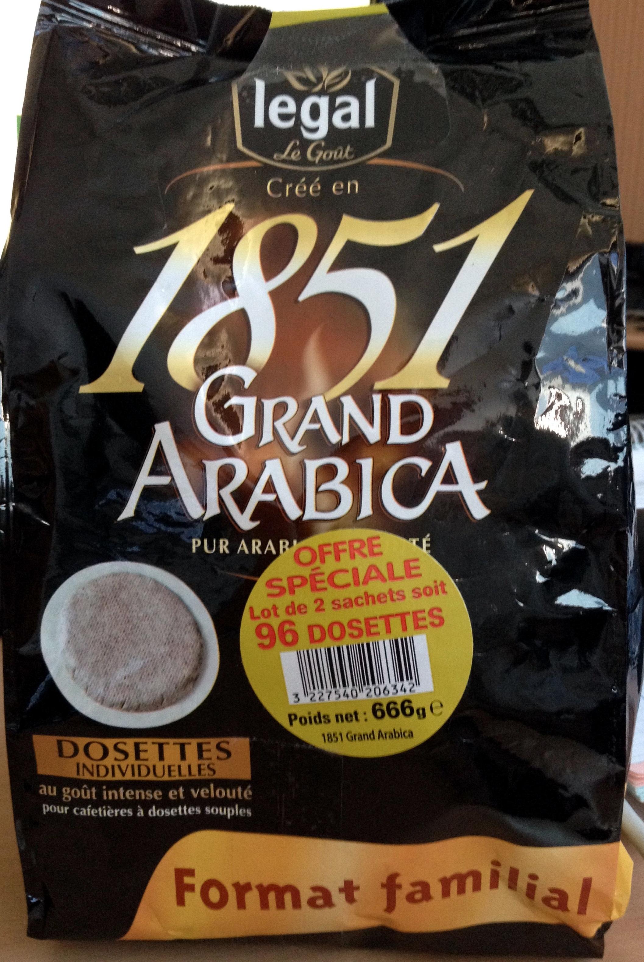 1851 Grand Arabica - Product - fr