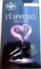 L'Espresso Delicato - Produit