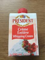 Creme entiere - Product