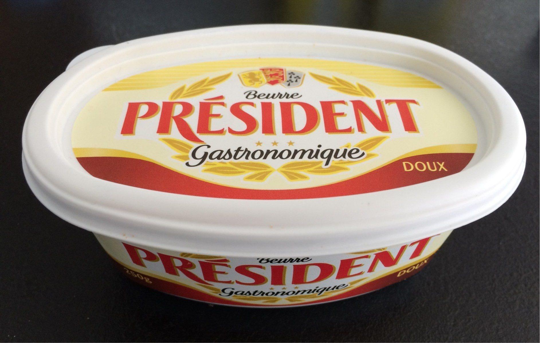 Beurre gastronomique doux - Product - fr