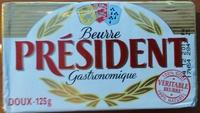 Beurre Doux (82% MG) Gastronomique - Produit - fr