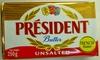 Beurre président gastronomique - Produit