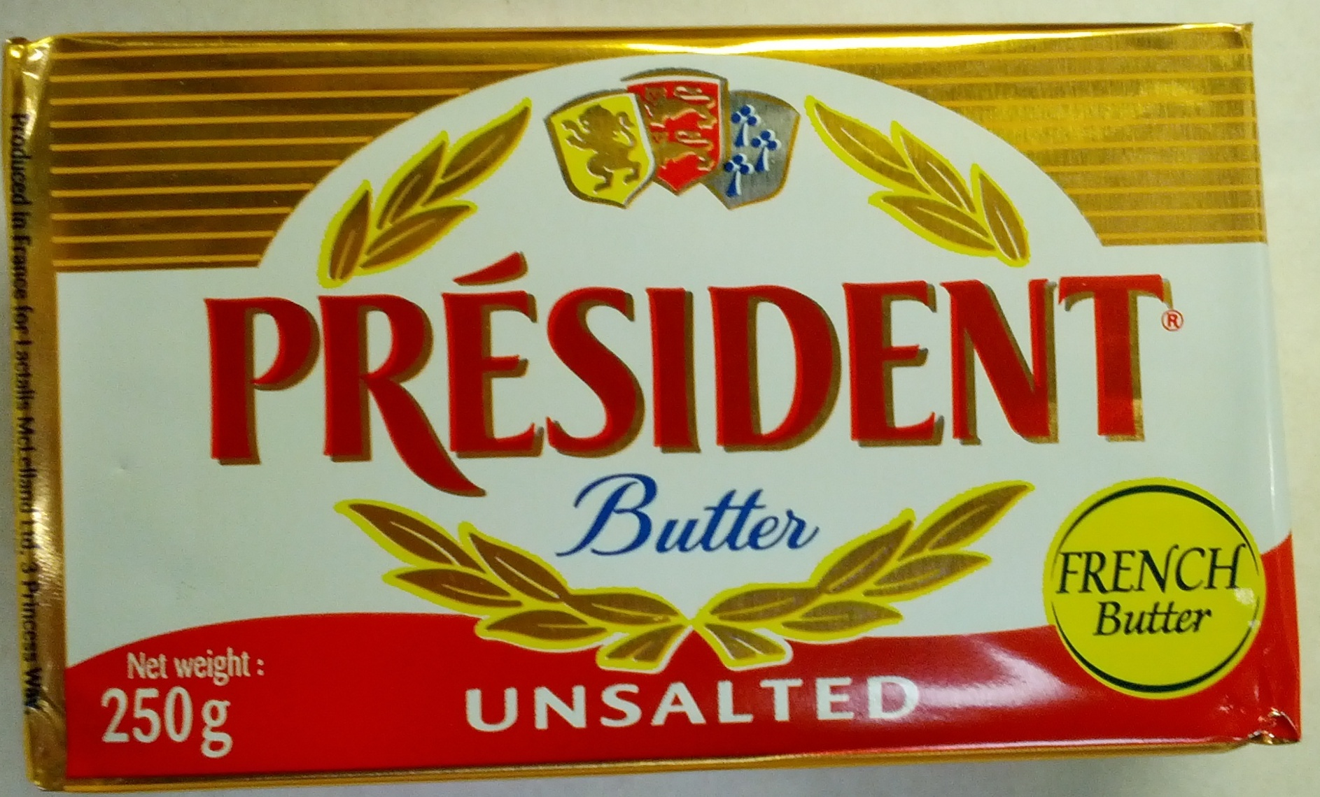 Beurre président gastronomique - Produit - fr