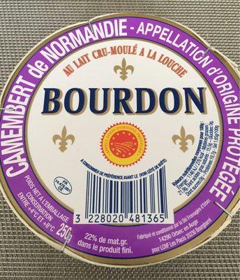 Camembert de Normandie - AOP (22% MG) - Product