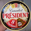 Camembert en portions - Produit