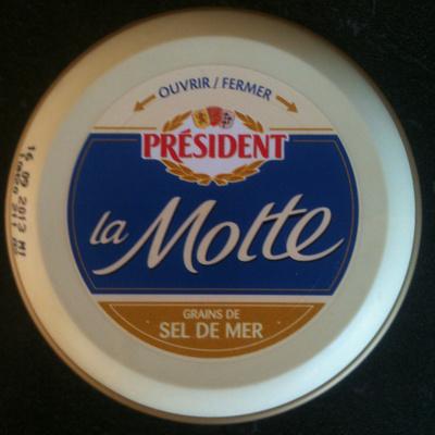 Président - La motte - Grains de Sel de Mer - 产品 - fr
