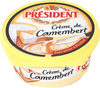 Crème de camembert à tartiner - Product