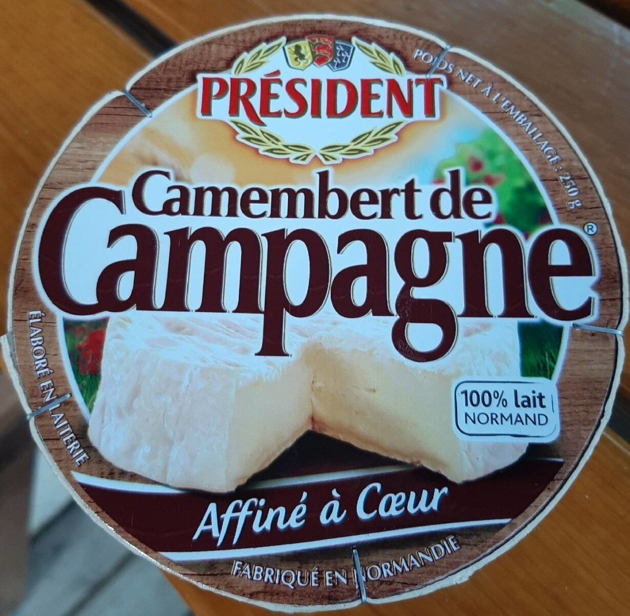Camembert de campagne - Product - fr