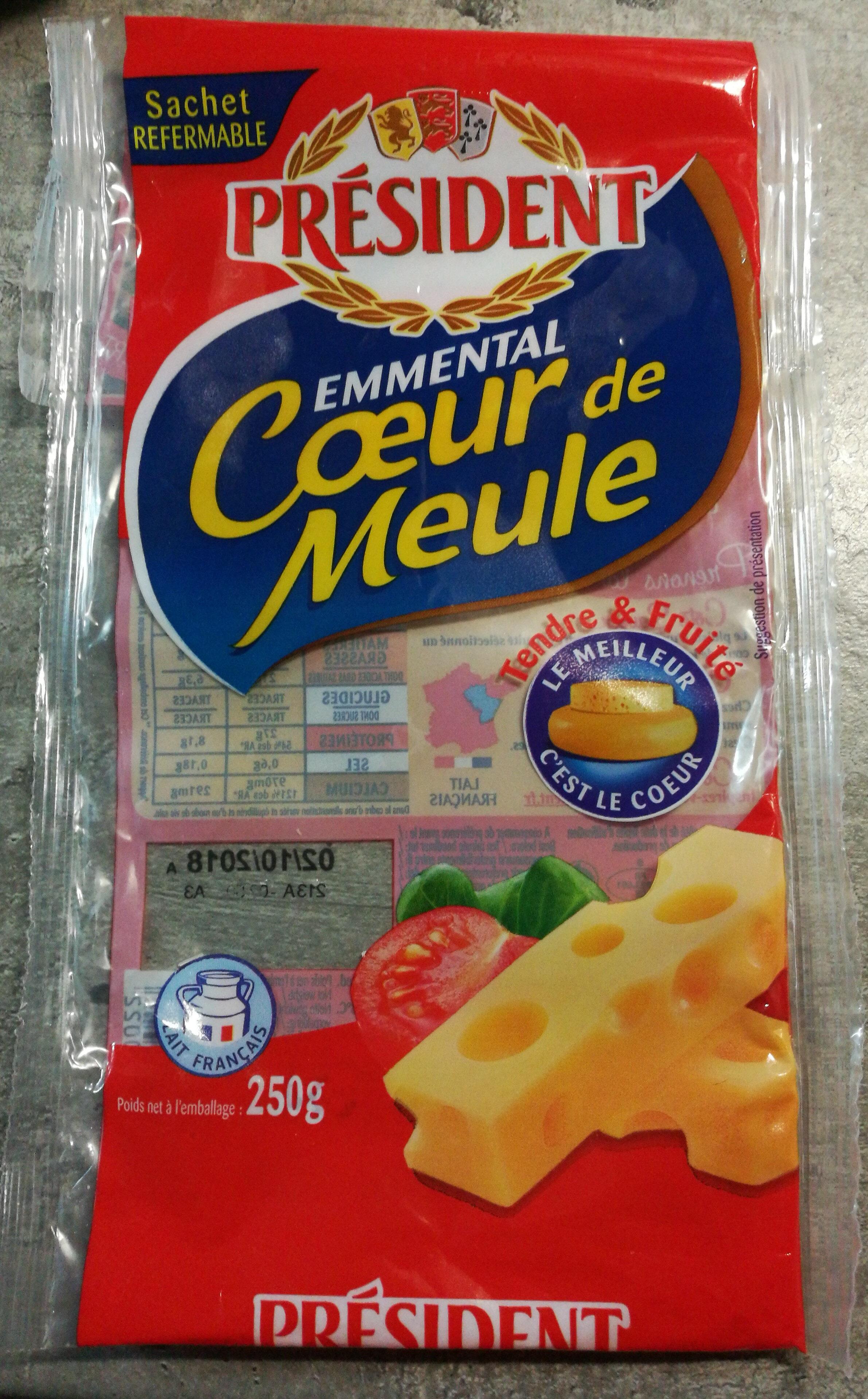 Emmental Cœur de Meule - Product - fr