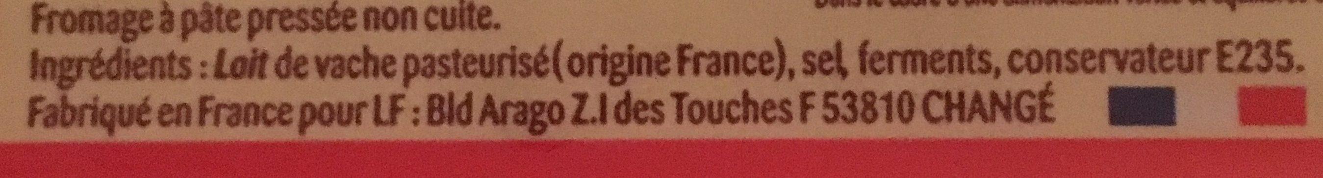Fromage pour raclette - Ingrédients - fr