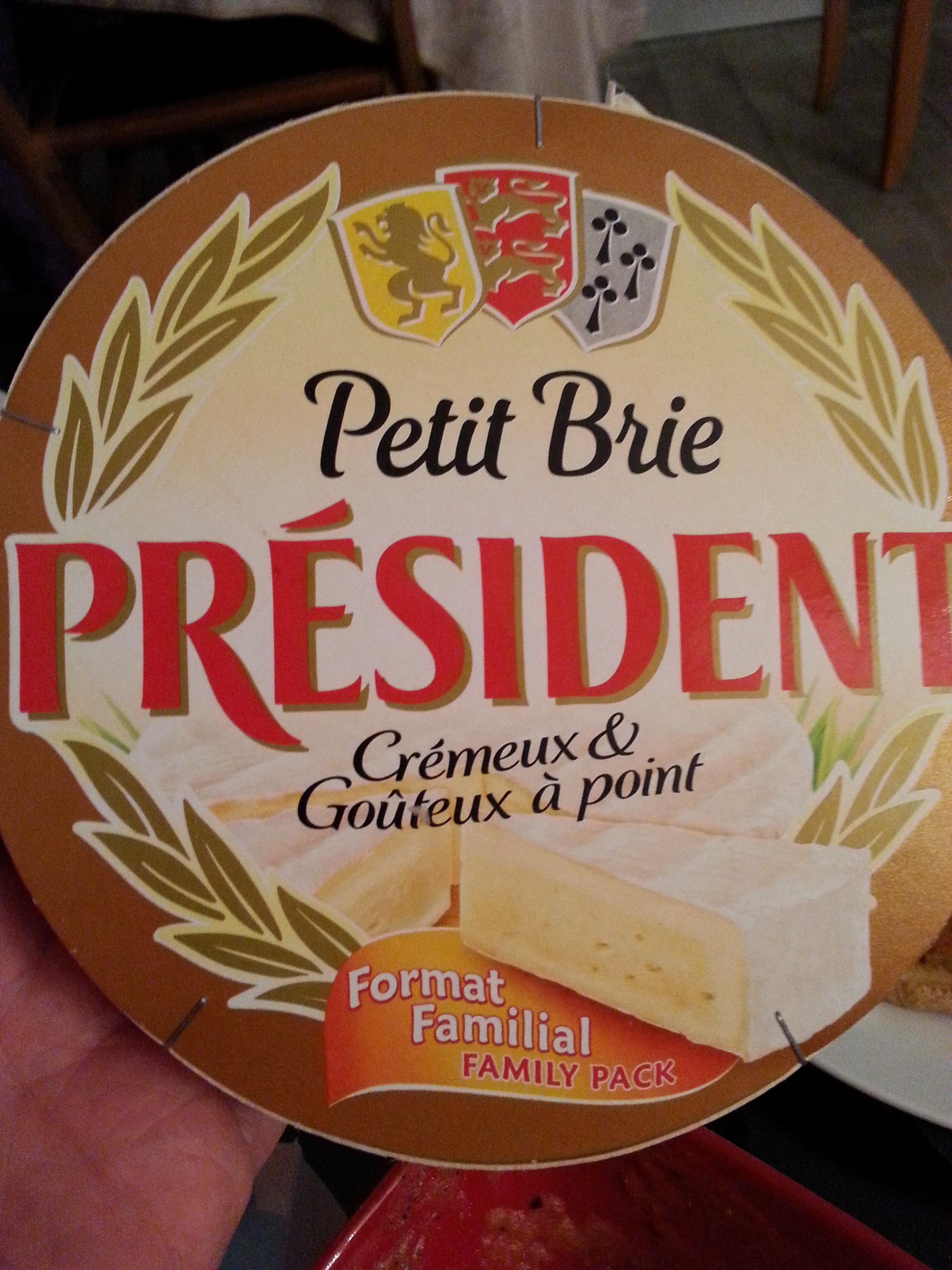 Petit Brie Président - Produit - fr