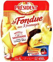 La fondue aux 3 fromages - Product - fr