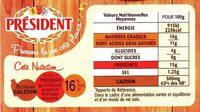 La fondue aux 3 fromages - Voedingswaarden - fr
