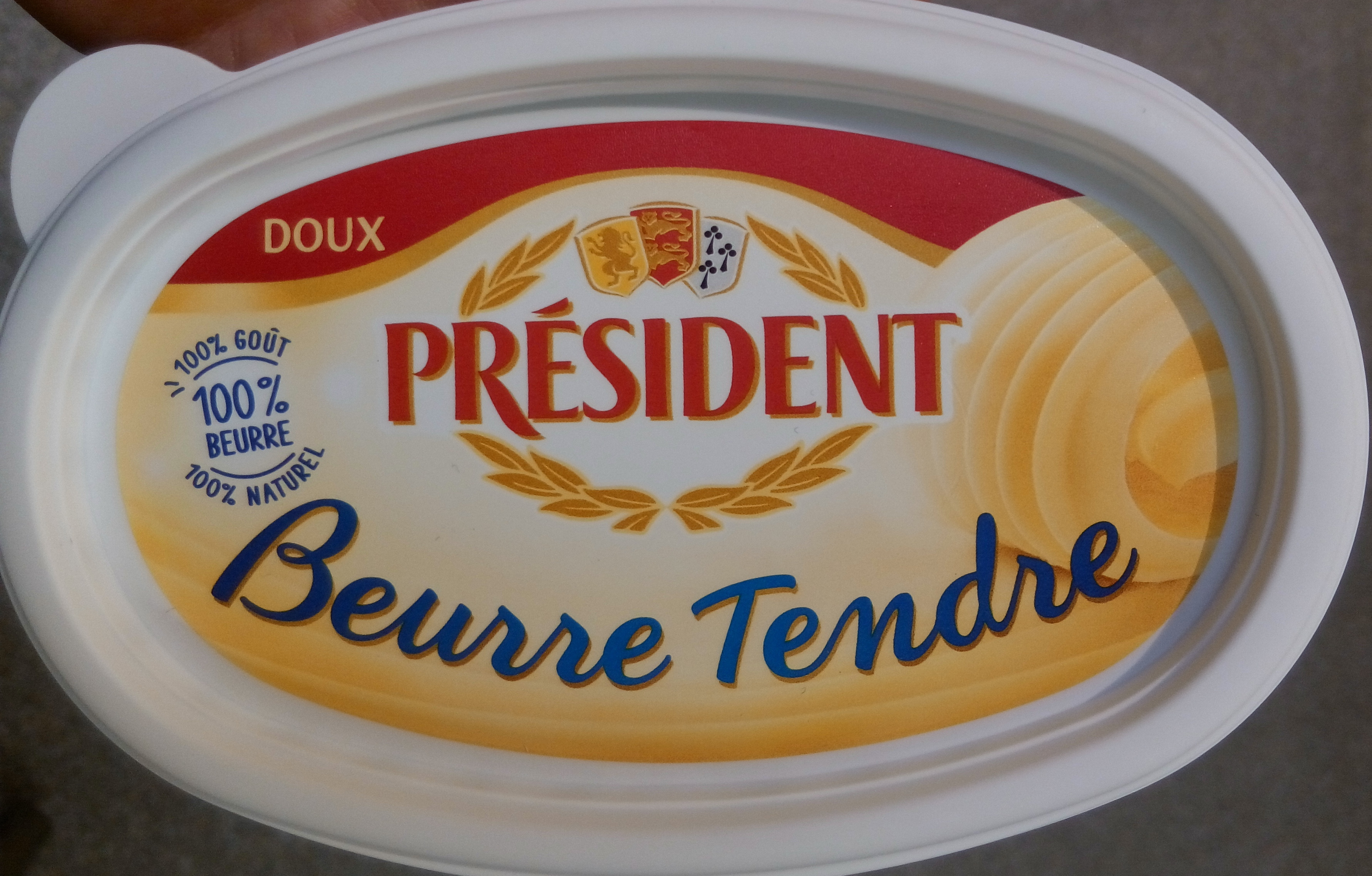 Beurre Tendre - Product - fr