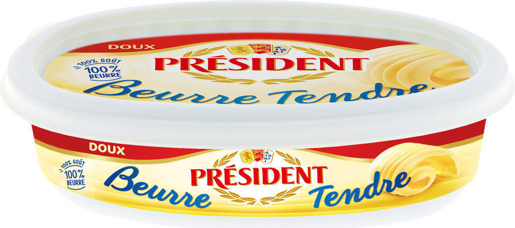 Beurre tendre doux - Product - fr