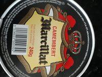 Camembert - Ingredients