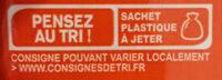 Emmental coeur de meule - Recyclinginstructies en / of verpakkingsinformatie - fr