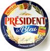 Le Bleu - Fromage à pâte molle persillée au lait de vache pasteurisé - Product