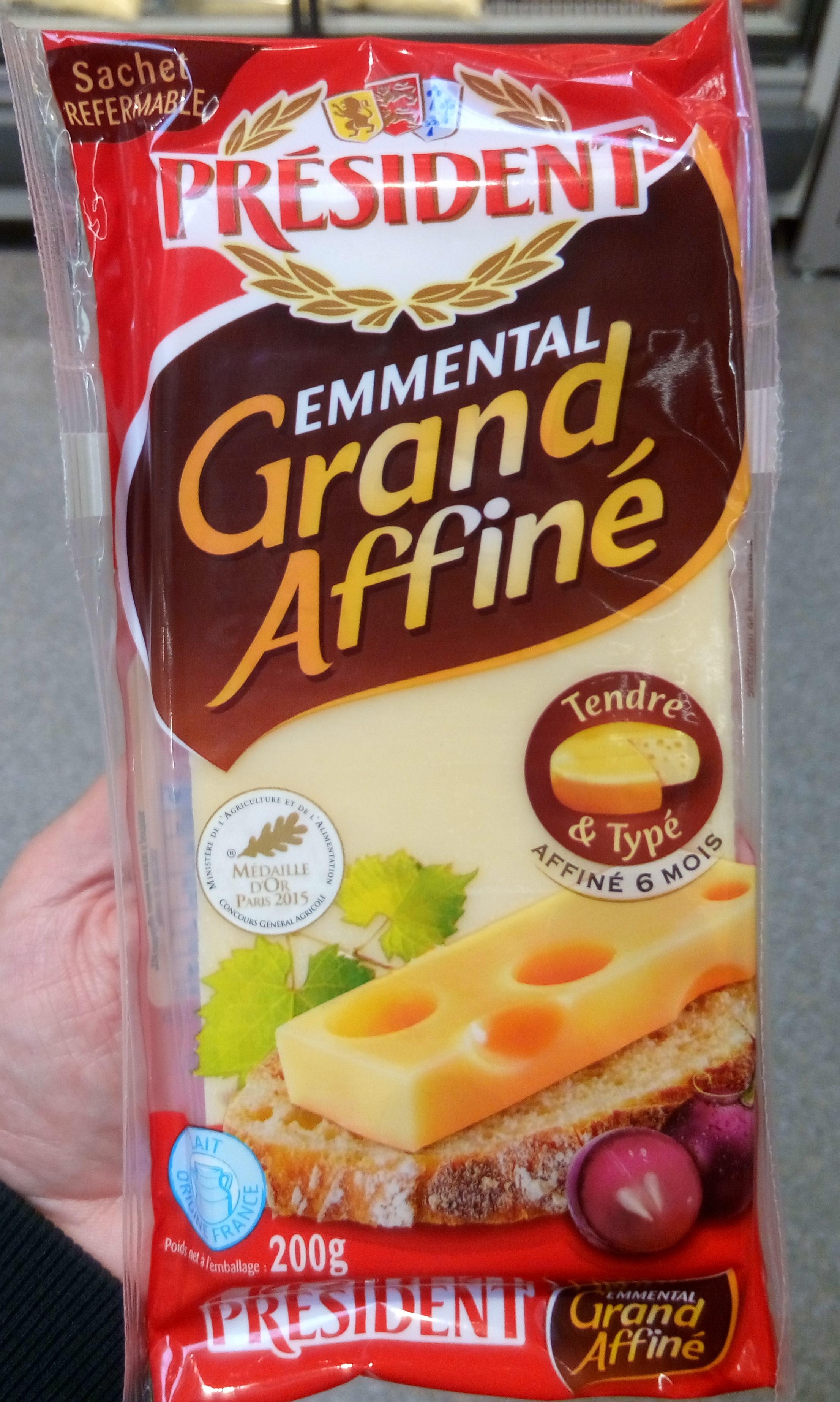 Emmental Grand Affiné - Produit - fr