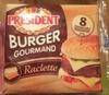 Fromage Burger Raclette - Produit